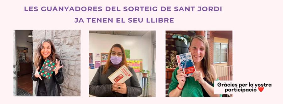 """El dia de Sant Jordi es va fer de manera oficial el sorteig dels llibres de """"Quí és la Dona ?"""" - Clica per a més informació!"""